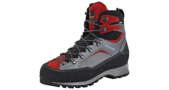 Scarpa R-Evo Trek GTX - Chaussures - gris/rouge